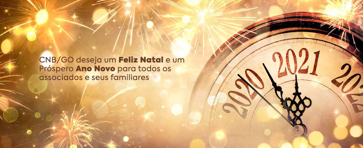 CNB/GO Deseja Um Feliz Natal E Um Próspero Ano Novo