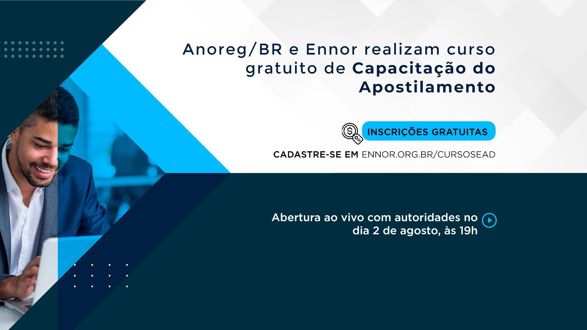 Clipping – AnoregBR – Anoreg/BR E Ennor Realizam Curso Gratuito De Capacitação Do Apostilamento (Haia)